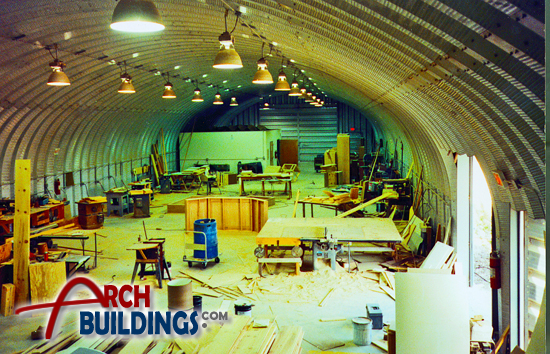 Steel Arch Commercial Buildings