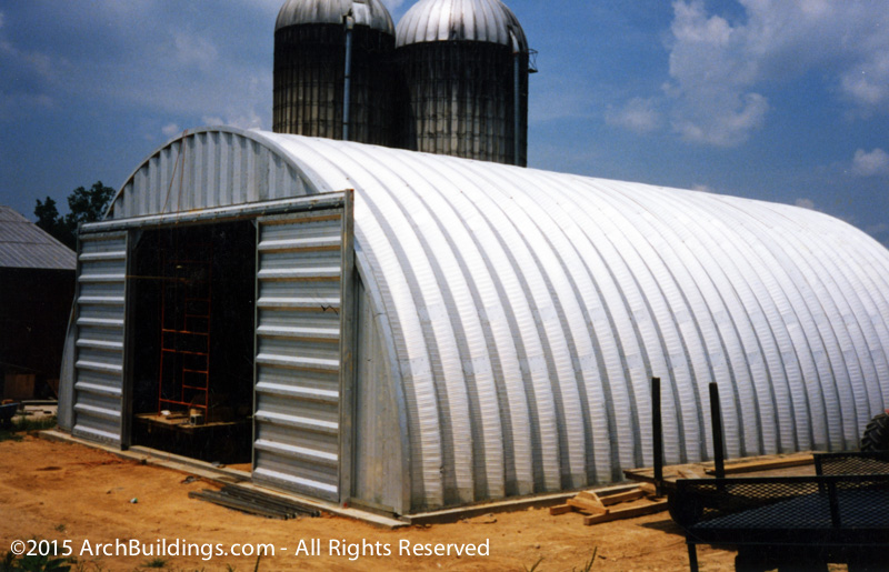 20 X 58 Steel Arch Agricultural Building Archbuildings Com