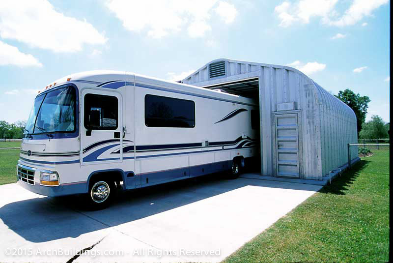 Steel rv storage for Metal rv garage