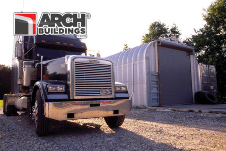 Steel Arch Detached Garage Kits