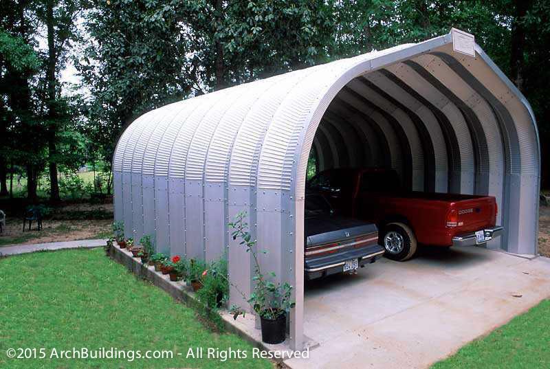 Steel Arch Carport Kits