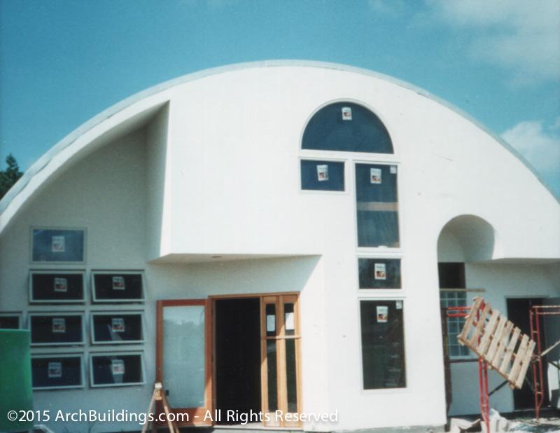 Steel Arch Prefab Homes