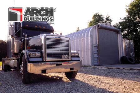 Steel Arch Detached Garage Kits