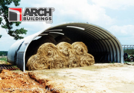 A hay barn from Archbuildings.com