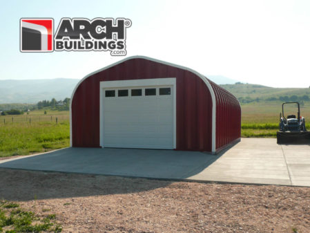 Our mid-sized buildings work great as she-sheds and man caves!