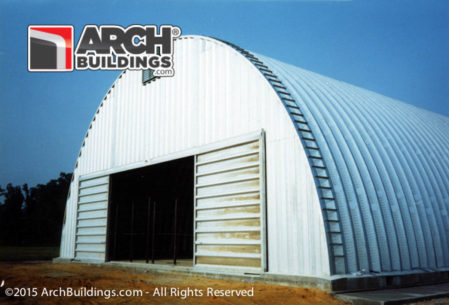 Steel Arch Buildings and Quonset Huts