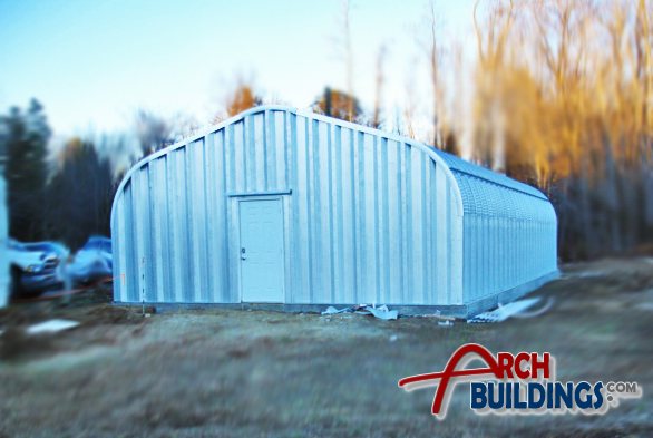 Metal Shelter Kit by ArchBuildings.com